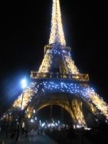 the first time i saw the eiffel tower sparkle