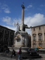 fontana dell'elefante (the symbol of catania)