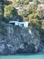 roger moore's house along the coast (old james bond)
