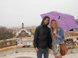 rainy day in barcelona with tyler