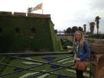 at montjuic castle