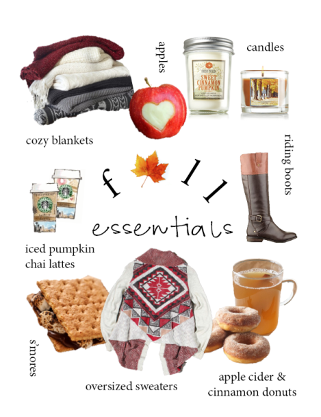 fall essentials png