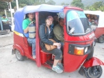 my first tuk tuk ride